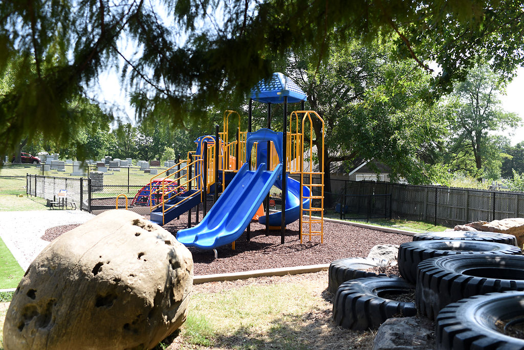 Ulysses S. Grant Elementary School opened its new playground