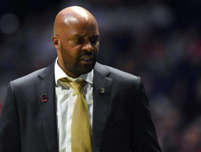 Cuonzo Martin paces the sidelines toward the end of Missouri's loss (copy)