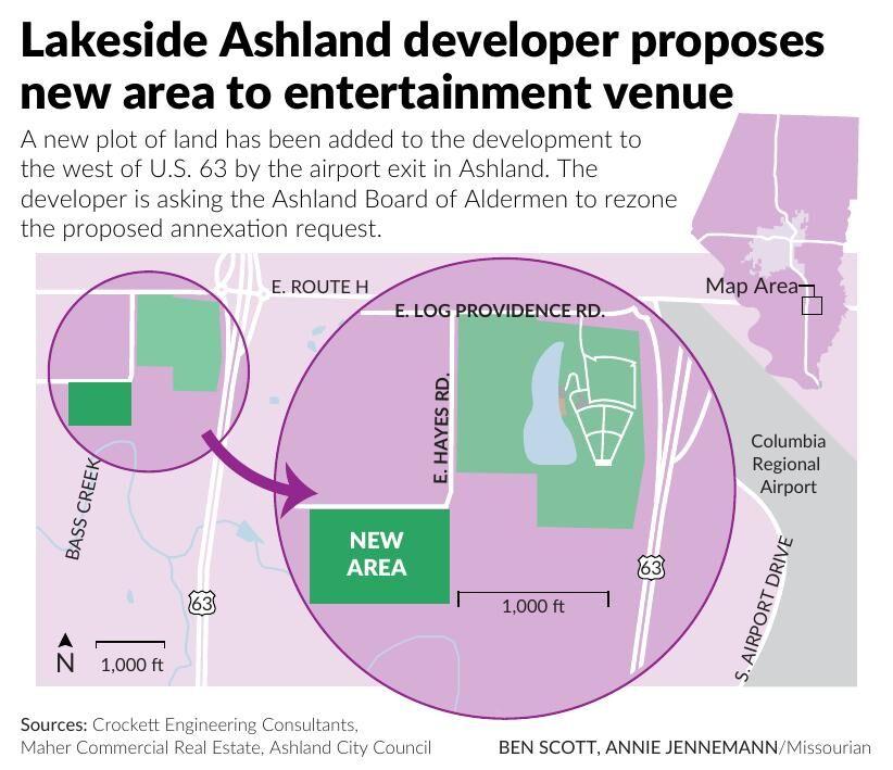 Lakeside Ashland developer proposes new area to entertainment venue