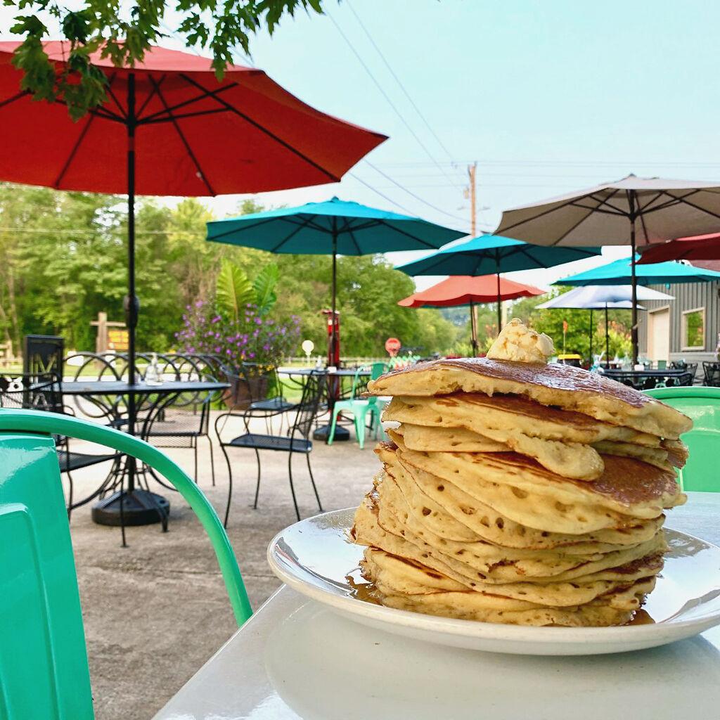 Meriwether Cafe's pancakes