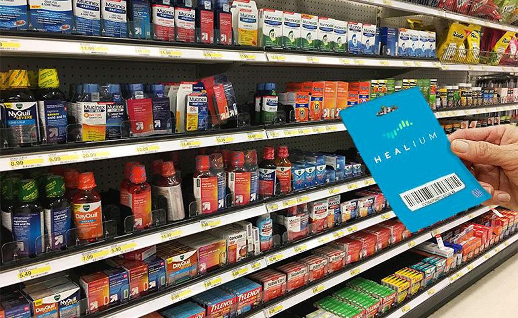 """A Healium gift card in a future """"digiceuticals"""" aisle"""