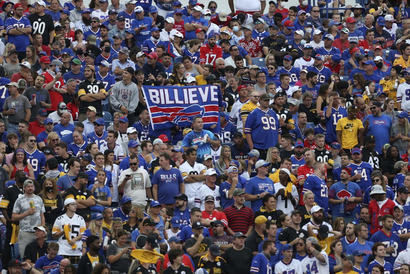 Steelers Bills Football