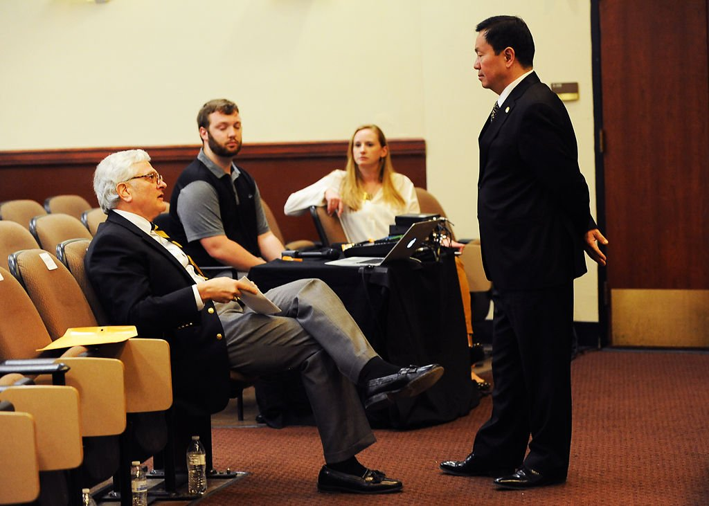 fiscal crisis dominates faculty meeting with um system president mun