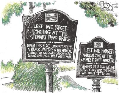 Lynching a memorial