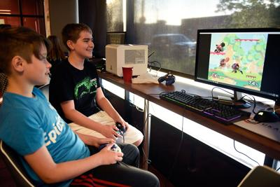 Parker Cohen and Brady Mcdermott play Super Smash Bros. Melee