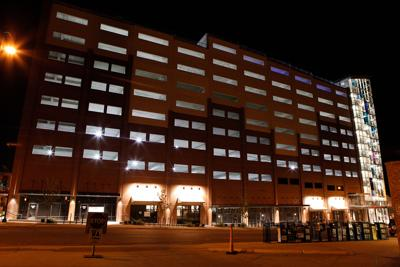 The Fifth and Walnut parking garage