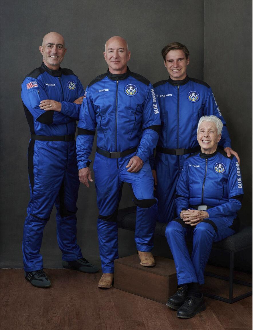 Blue Origin team