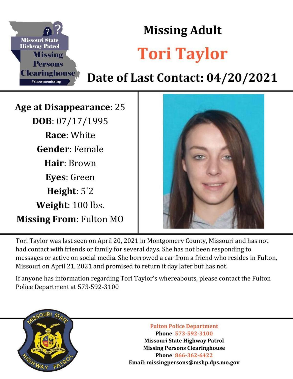 Taylor, Tori - Flyer