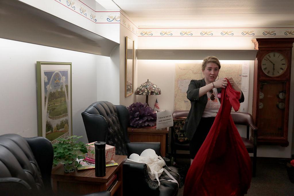Cortney Bouse folds up her 'Handmaid's Tale' costume