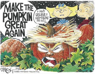 Make the pumpkin great again
