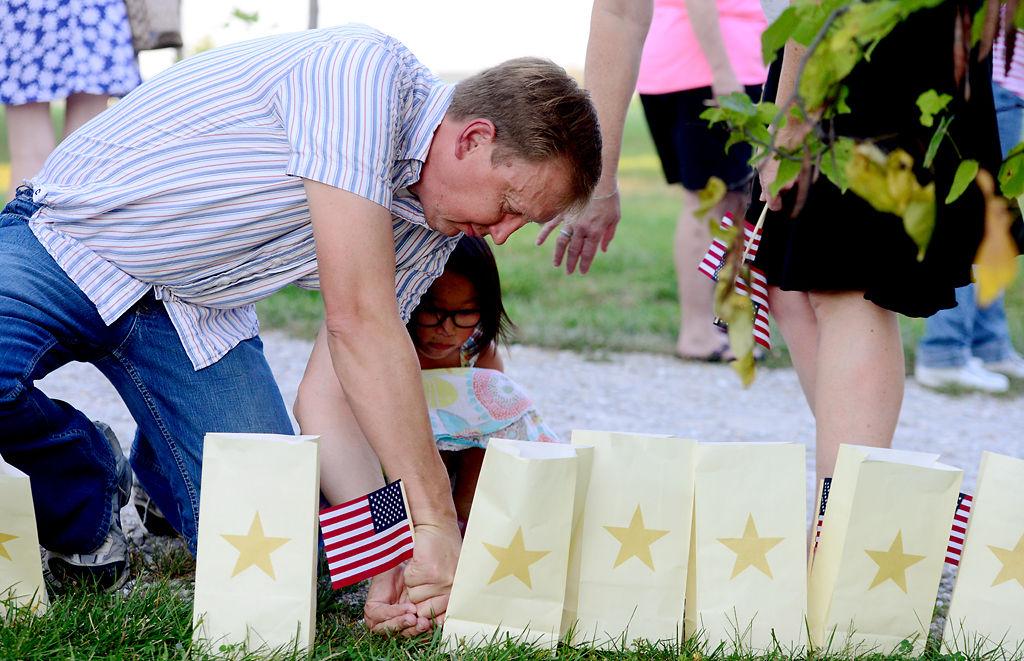 Lighting ceremony held for fallen Missouri soldiers