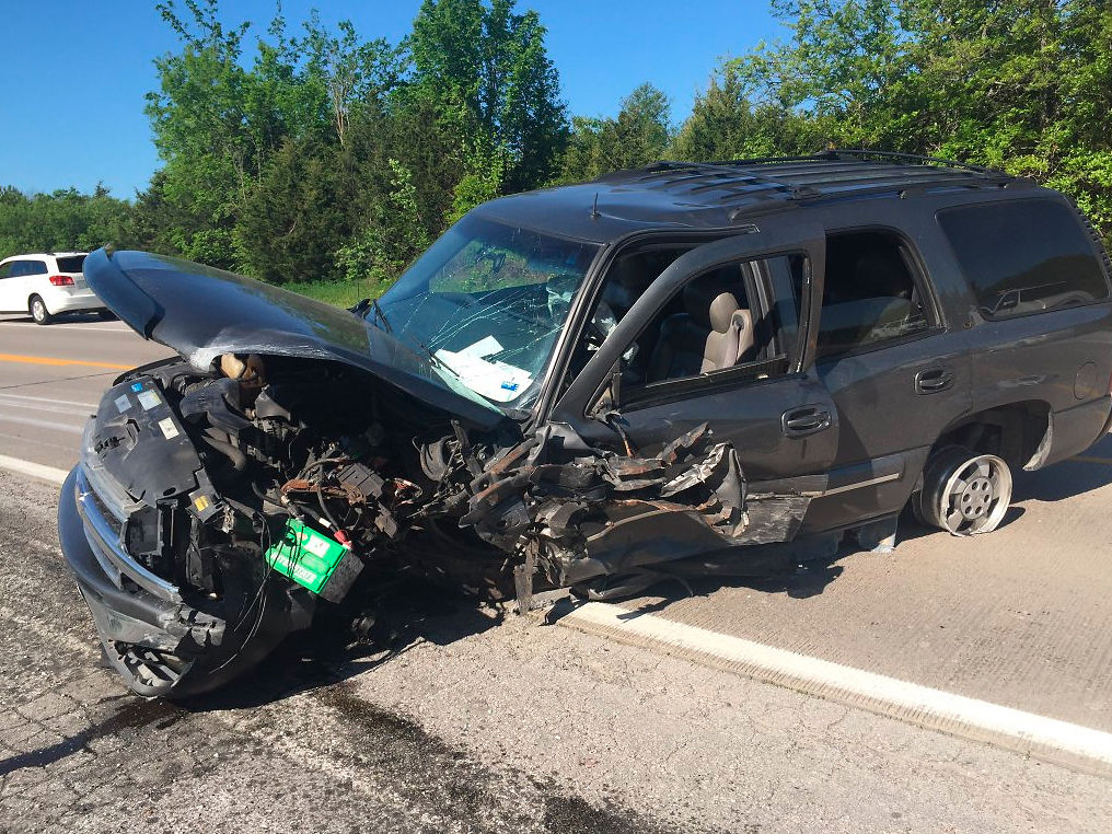 UPDATE: Two injured in accident on Route B on Wednesday