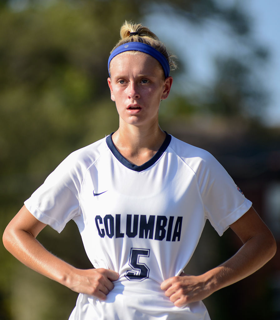 Jewel Morelan reacts to a goal