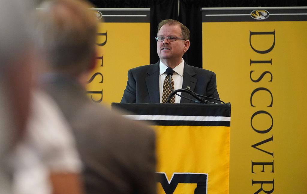 MU Chancellor Alexander Cartwright delivers anniversary address