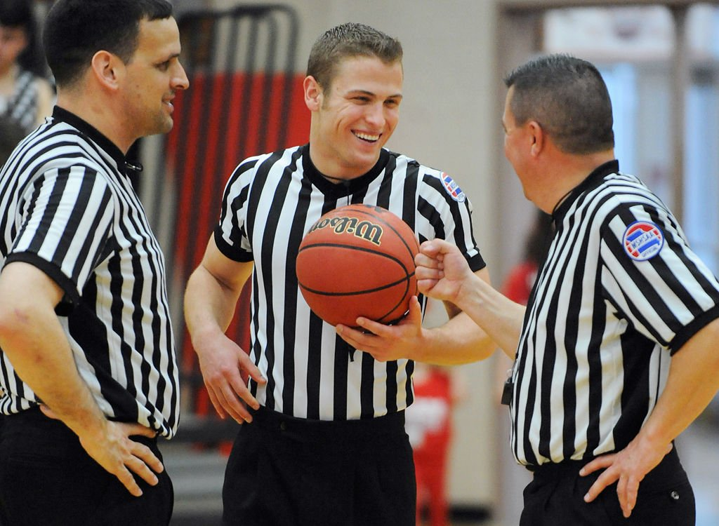 Meet Kevin Raher: a college-aged basketball referee chasing