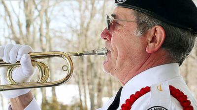Paul Hobbs gives back to veterans with his bugle   News