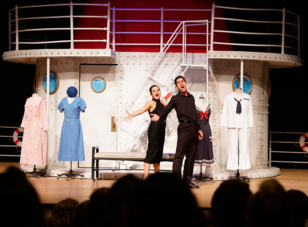 "Sicily Mathenia and Samuel DeMuria perform ""You're the Top"""
