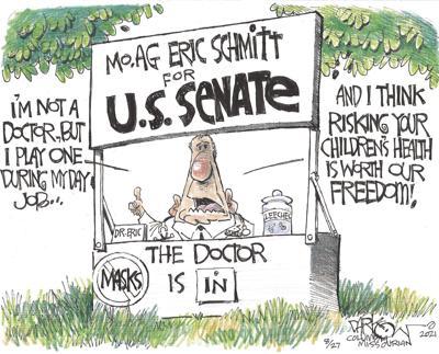 Eric Schmitt's lawsuit du jour