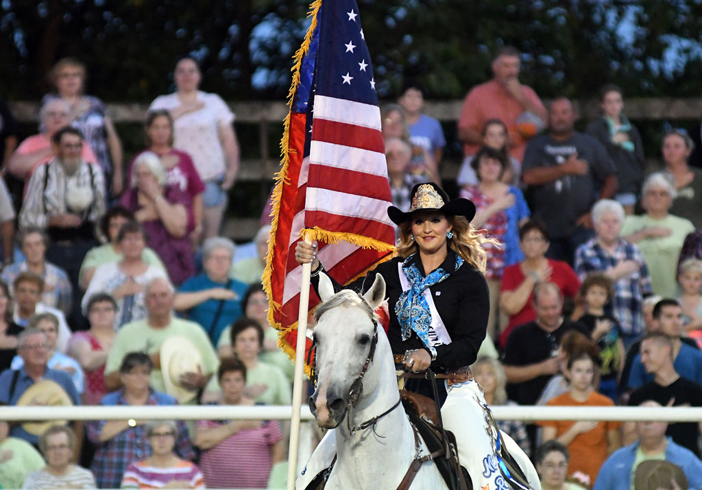 Cowboys And Cowgirls Saddle Up For Annual Ashland Rodeo