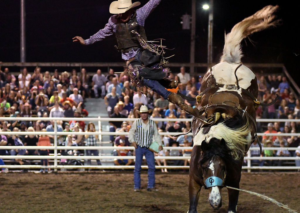 33907086f976 Cowboys and cowgirls saddle up for annual Ashland rodeo