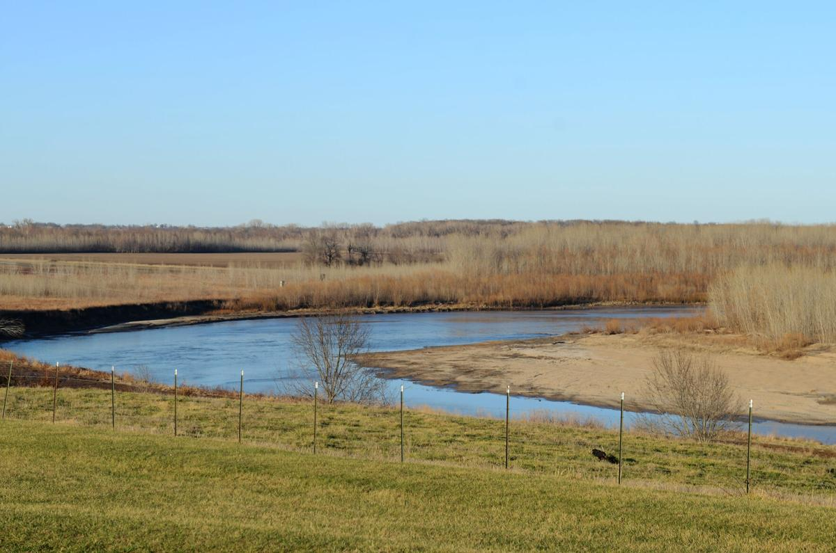 The Thompson River sits next-door to the permitted CAFO site