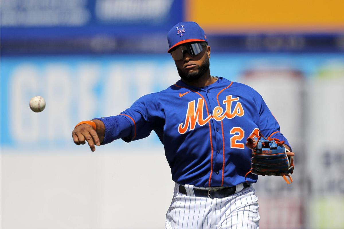 Mets-Cano Suspended Baseball
