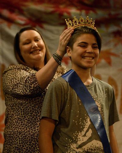 Wyatt Bonaparte is awarded a crown