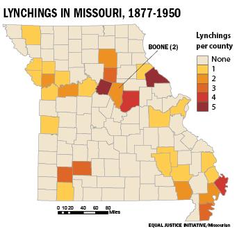 Lynchings in Missouri, 1877-1950