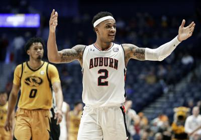 Brown Heats Up Late To Push Auburn Past Missouri In Sec