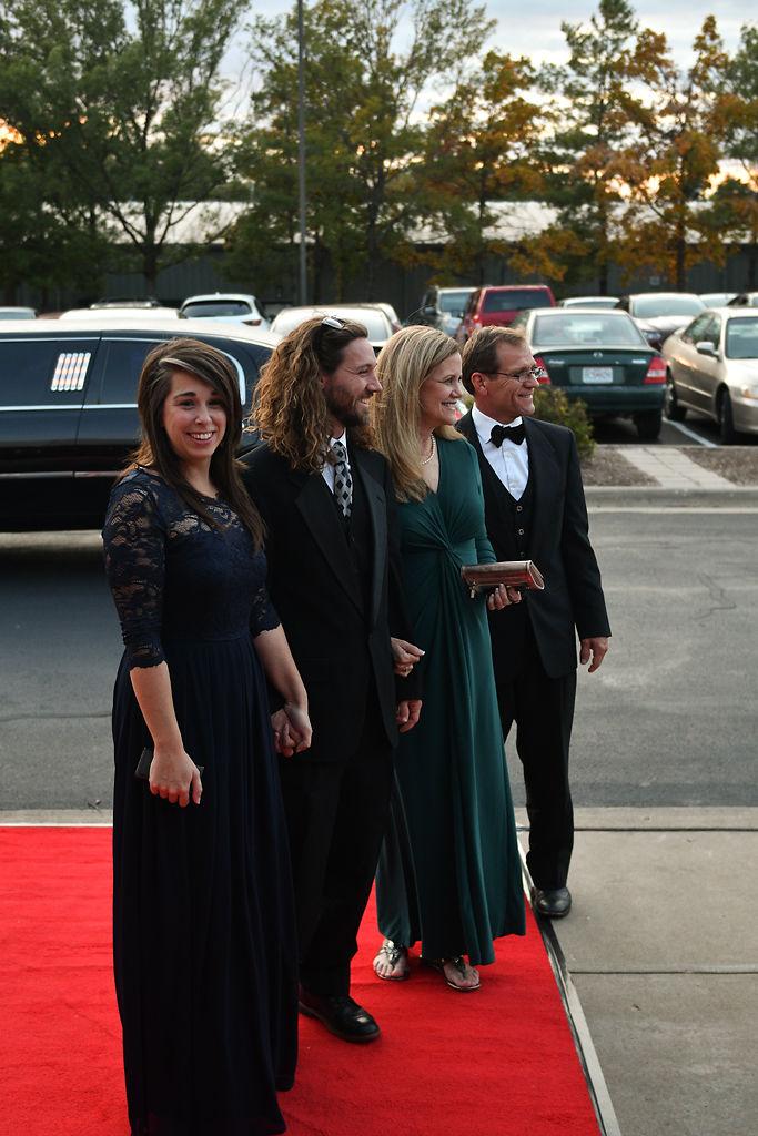 From left, Jade Danner, Eli Danner, Lisa Danner and Mark Danner pose
