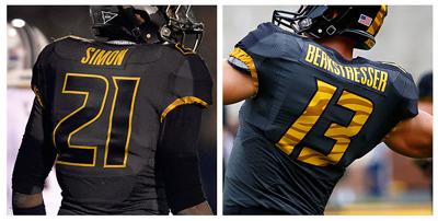 d4f510053a86 Missouri football forced to change jerseys