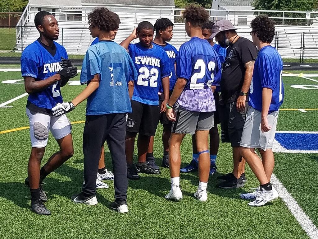 Ewing High School football team