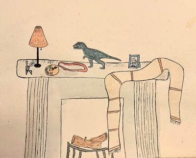 Drawing by Charlotte Dijkgraaf
