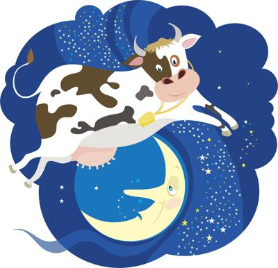 The Cow jumped over  Moon