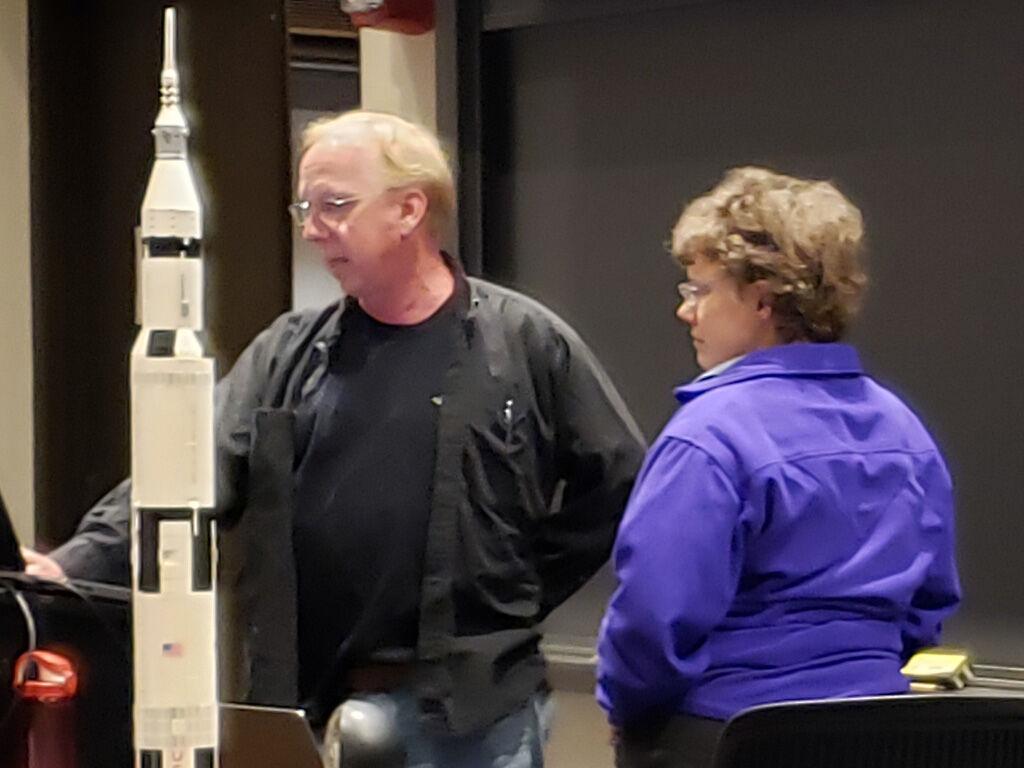 Astronomers AAAP David and Jen Skitt