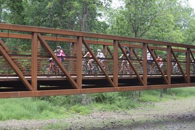 Stony Brook Pedestrian Bridge opening 1