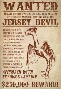 The Jersey Devil in Visual Art