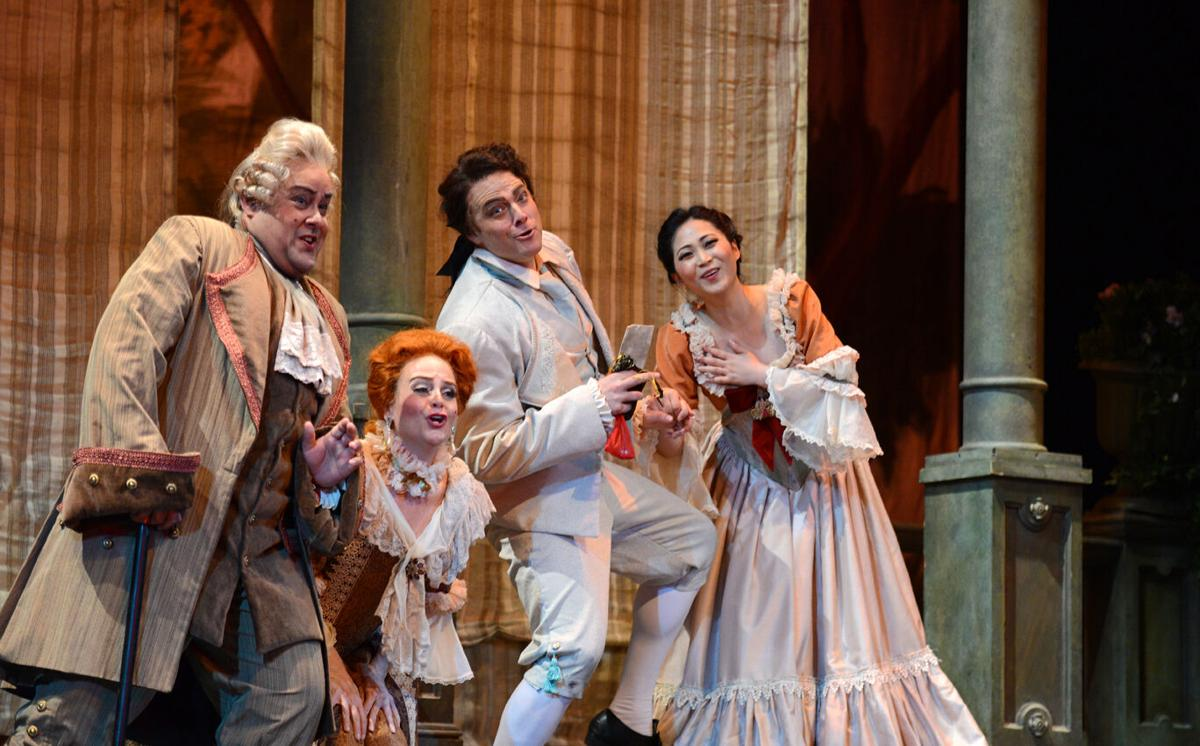 6-14 streaming of 2015 production of Le Nozze di Figaro