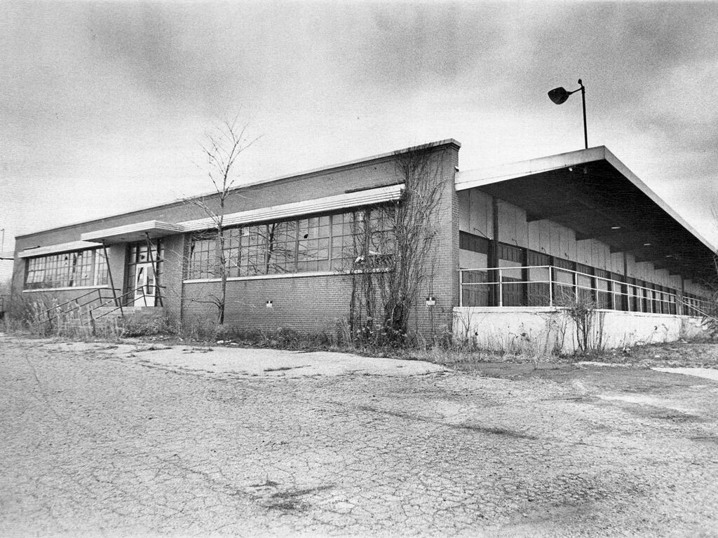 Old lawrence library/riss trucking terminal