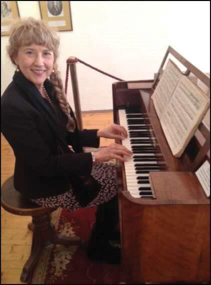 Linda at Graf Piano in Austria