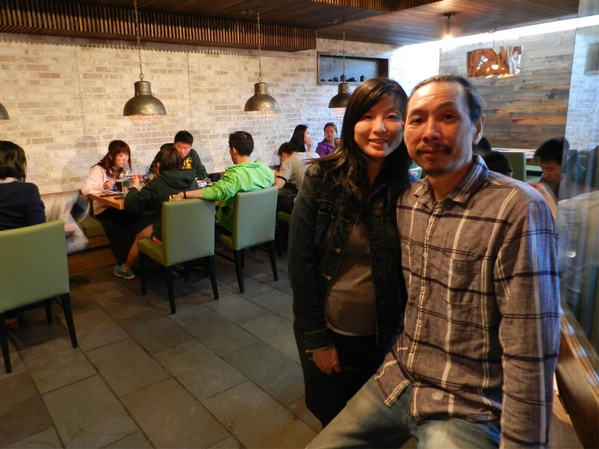 Jessica Xiao and husband Chi Cheng