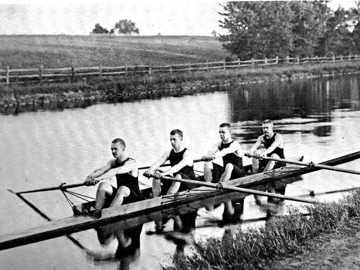 Princeton rowing team old days web