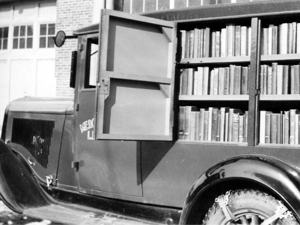 Mercer County bookmobile