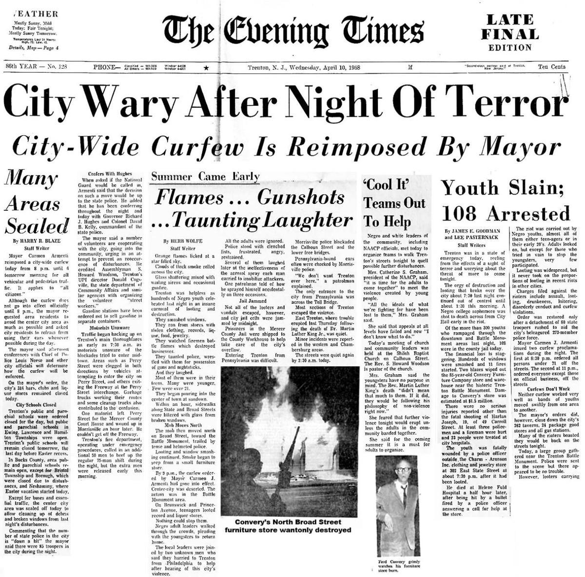 1968 APRIL 10 TRENTON DESTROYED