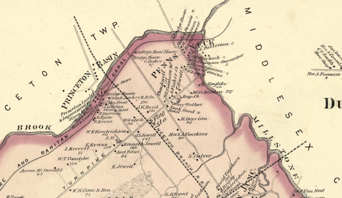 1 – Penns Neck in 1875.