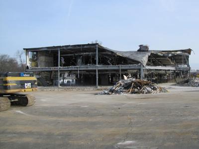 Lawrence Shopping Center demolition Huffman Koos