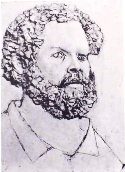 Jonathan Shahn Self Portrait
