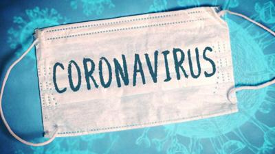 coronavirus covid mask graphic