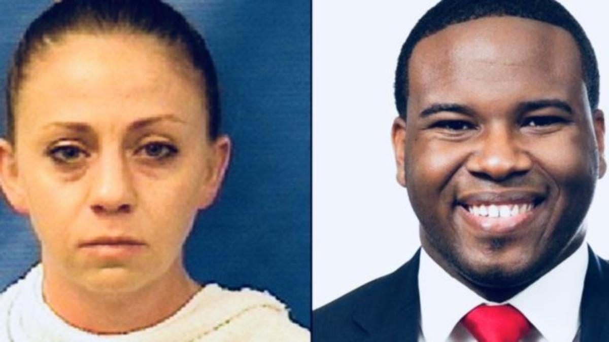 Dallas officer Amber Guyger and victim Botham Jean