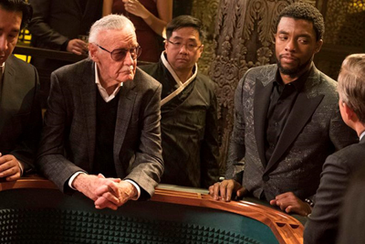 Image result for stan lee black panther